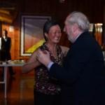 Jantar de Confraternização: Casal David Green e esposa