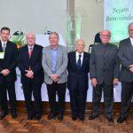 1.3 Homenagem aos Ex-Presidentes: Leonardo Curimbaba, Marco A. P. Jordão, José C. Bressiani, Urames P. Santos, Paschoal Giardullo e Samuel M. Toffoli