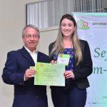 9.7 Menção Honrosa ao trabalho de Graduação: Larissa S. Reis