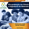 Processo seletivo para o Mestrado em Ciência e Engenharia de Materiais da UFABC