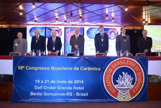 58º Congresso Brasileiro de Cerâmica - Solenidade de Abertura