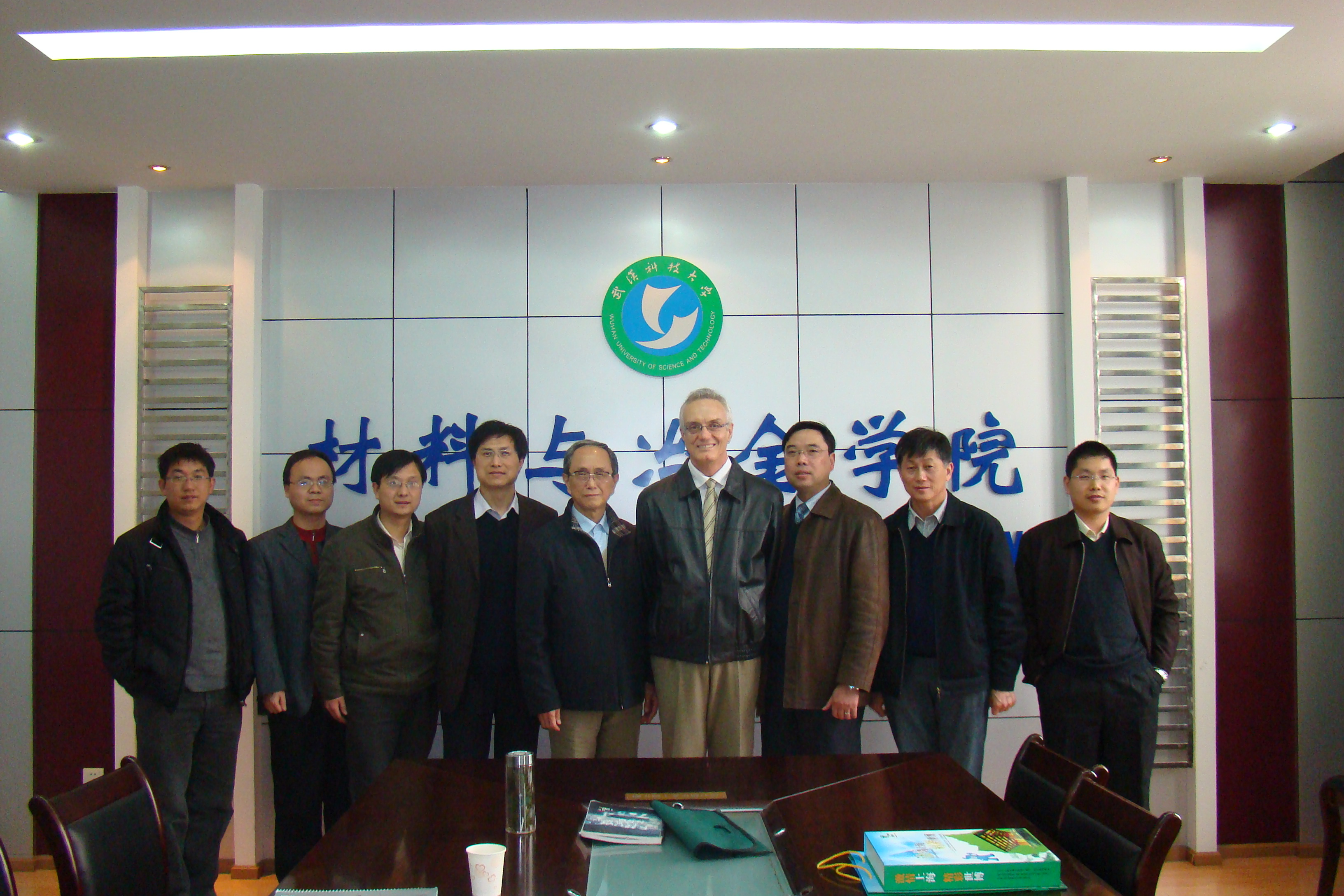 Prof. Dr. Victor C. Pandolfelli da UFSCar e Associado da ABC foi eleito Guest Professor da Wuhan University